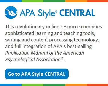 APA Style Central