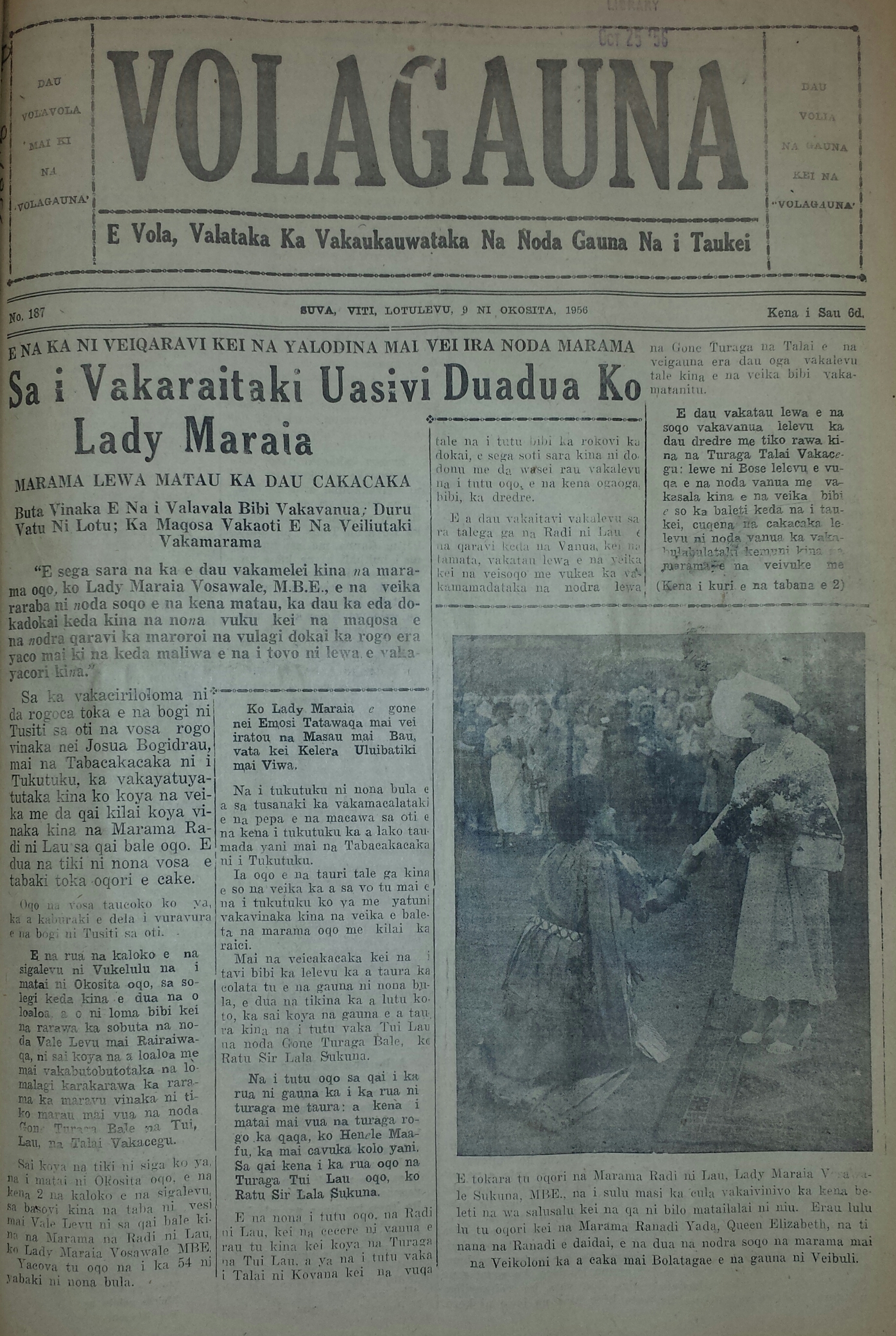 Cover of the 'Volagauna'