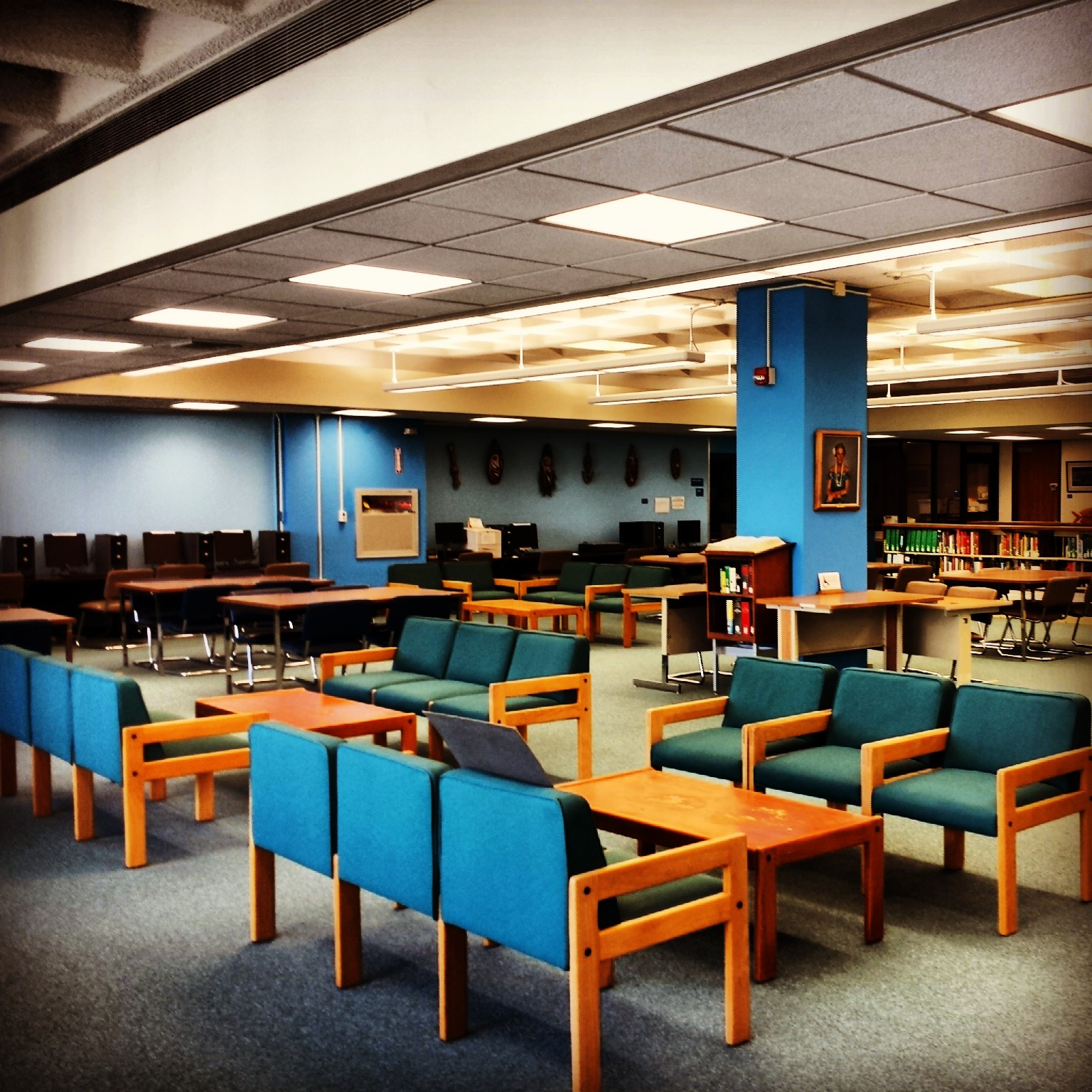 Hawaiian and Pacific Collections Reading Room