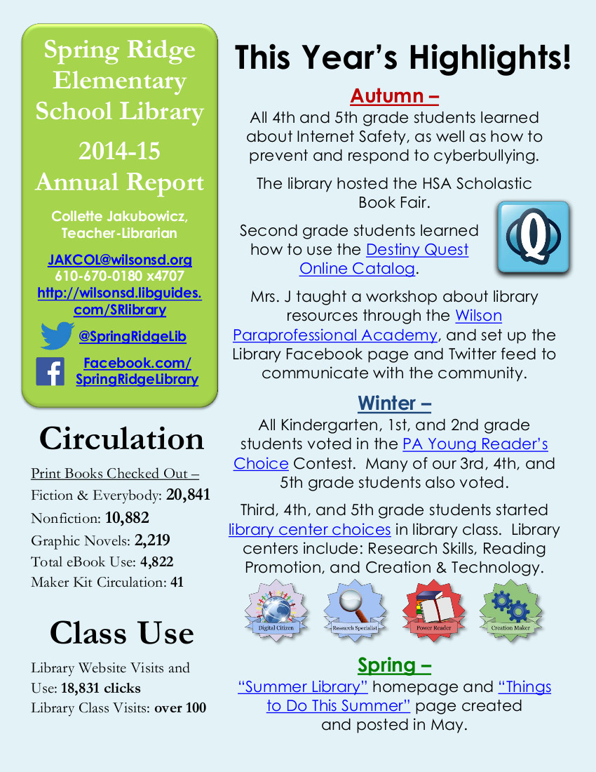 2014-15LibraryAnnualReport