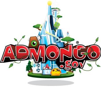 Admongo logo and link