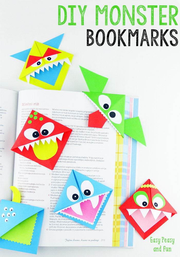 MonsterCornerBookmark