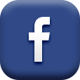 Dark blue icon for Facebook