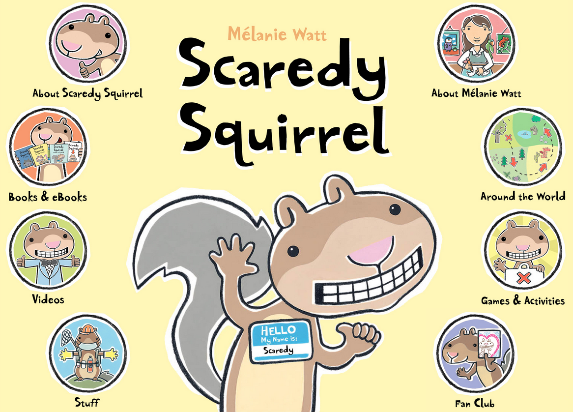 Scaredy Squirrel