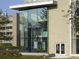 Health Sciences Library as seen from outside