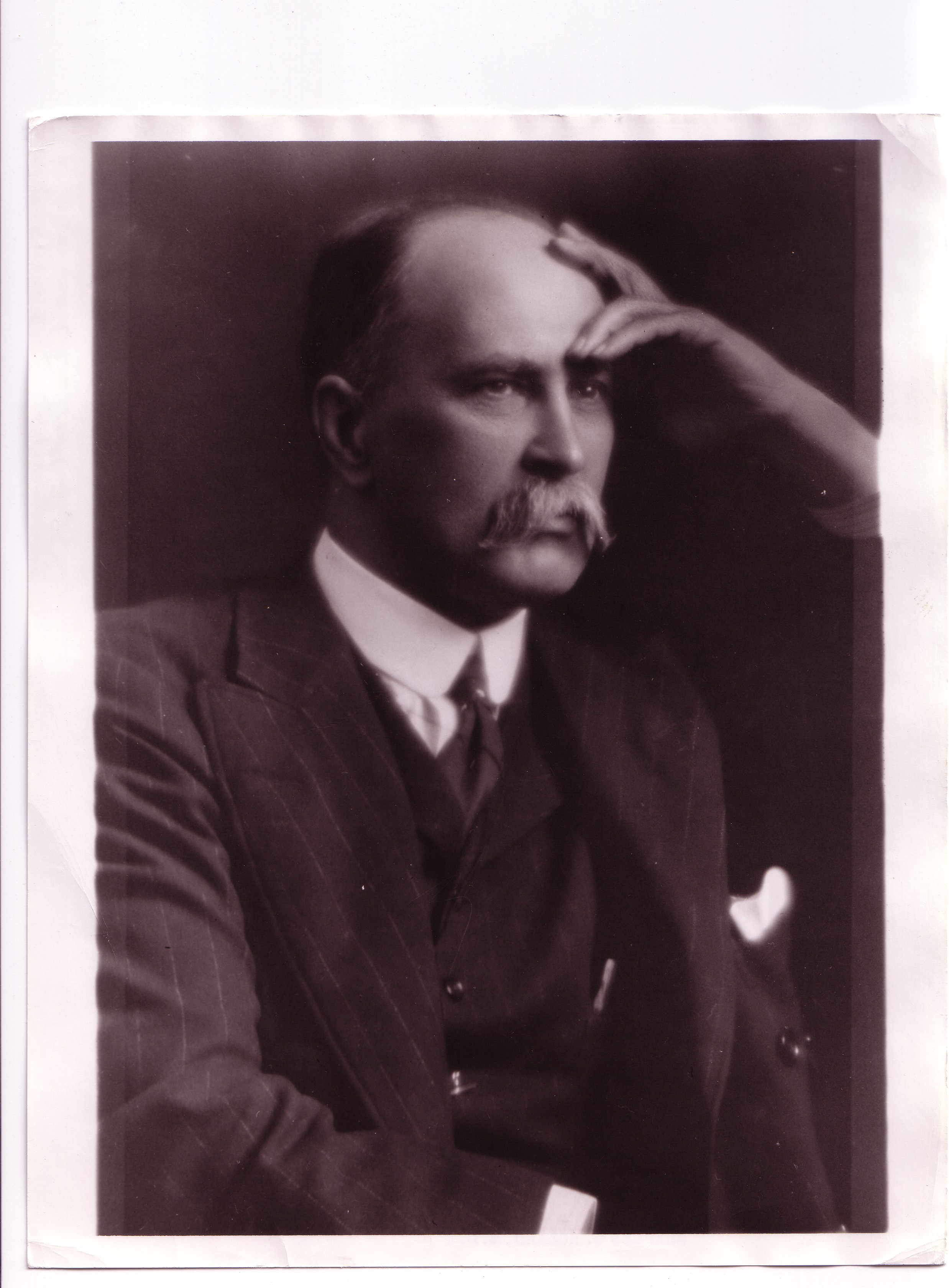 Photograph of Dr. William Osler, 1849-1919