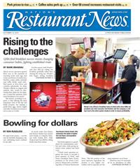Restaurant News cover