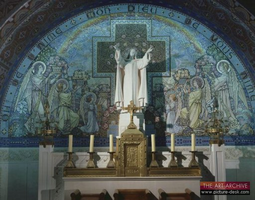 photo of Crypt Main Altar with mosaics
