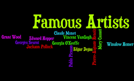 Famous Artists from Around the World