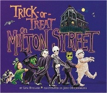 Trick-or-treat on Milton Street book cover