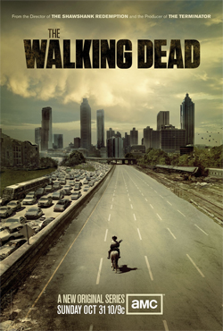Walking Dead poster from AMC blogs