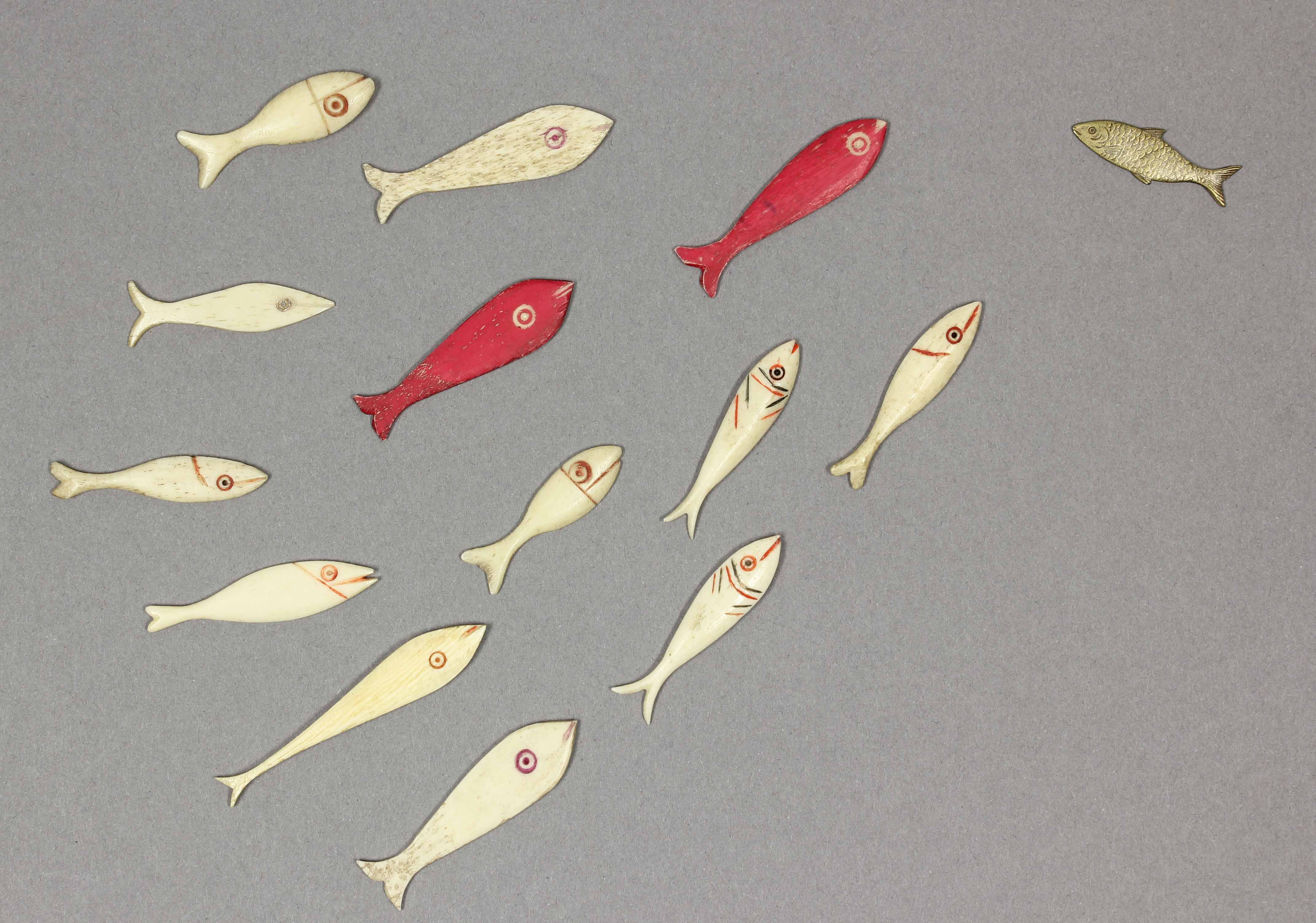 Bone fish counters from the Ballam Collection