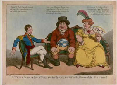 A trip to Paris: John Bull, his wife and Napoleon