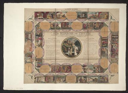 The Mirror of Truth (board game). John Wallis,1811