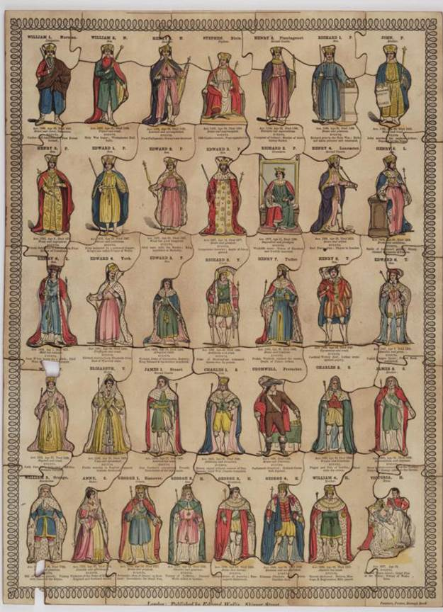 Whole length portraits of the Kings and Queens of England, displayed in chronological order, Wallis and Passmore, 1835