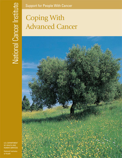 Links to the publication, Coping with Advanced Cancer (PDF)