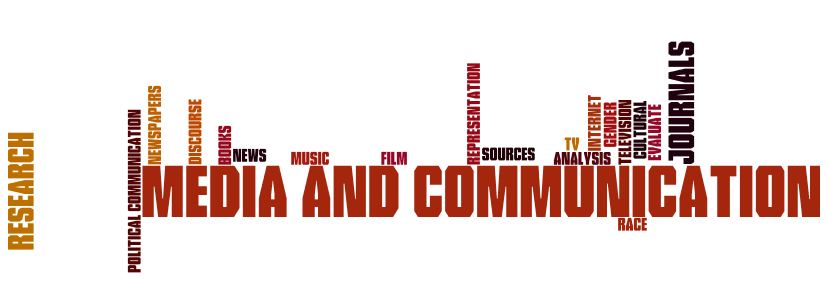 Media and Communication Wordle