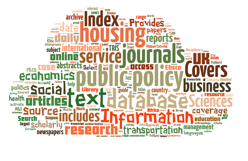 Public policy & housing
