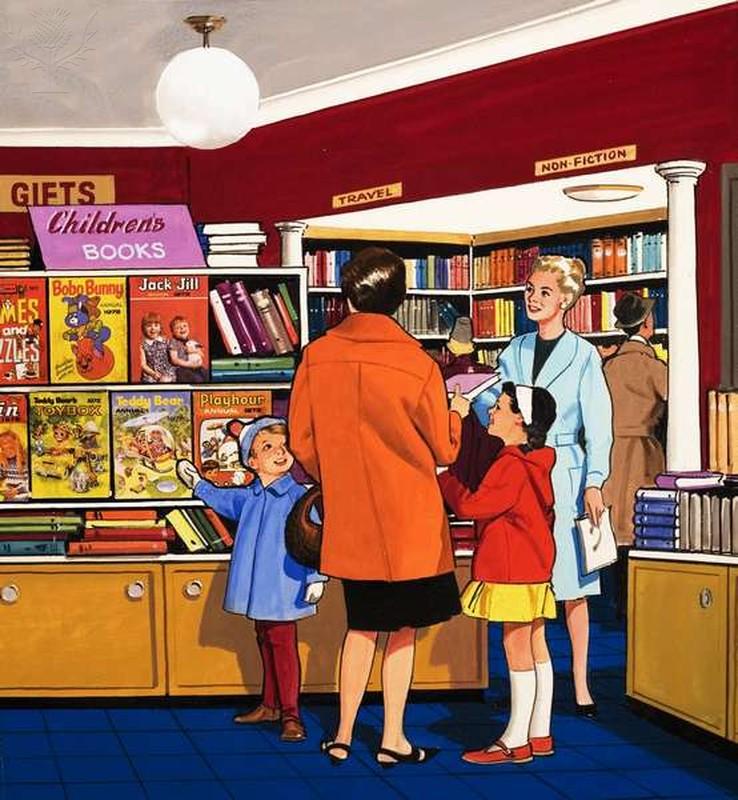 Book Saleswoman