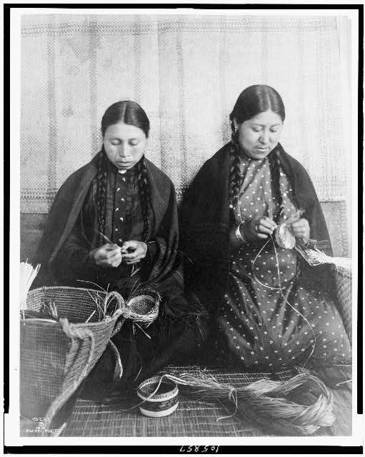 Makah Indian Basket Weavers
