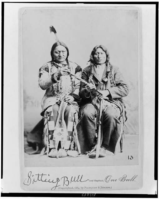 sitting bull and nephew
