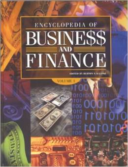 Book cover Encyclopedia of Business & Finance