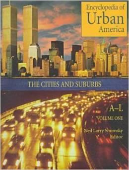 Book cover of Encyclopedia of Urban America
