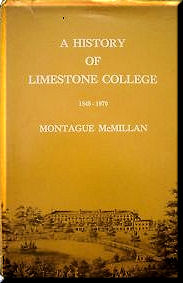 Cover of A History of Limestone College