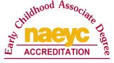 NAEYC logo for Early Childhood Associate Degree Accreditation