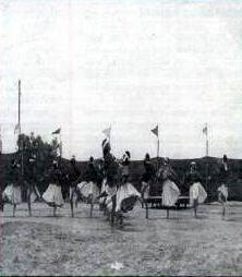 University of Júarez dance troupe