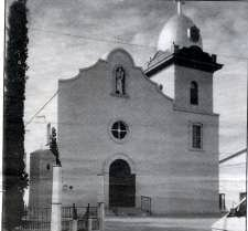 """Mission San Antonio de los Tiguas"" also known as the Ysleta Mission"