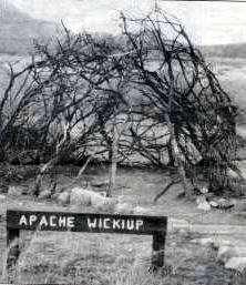 pache Wickiup at the Museum of Archaeology at Wilderness Park.