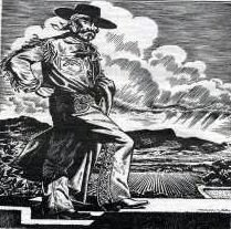 "Juan Maria Ponce de León.  From ""Twelve Travelers Through the Pass of the North""."