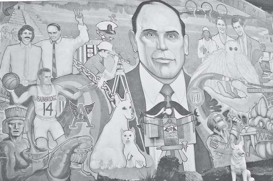 Mural at David L. Carrasco Job Corps