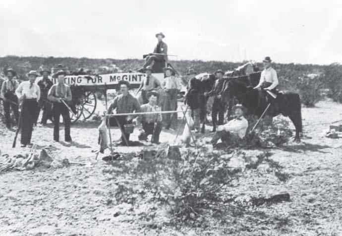 McGinty hunting trip