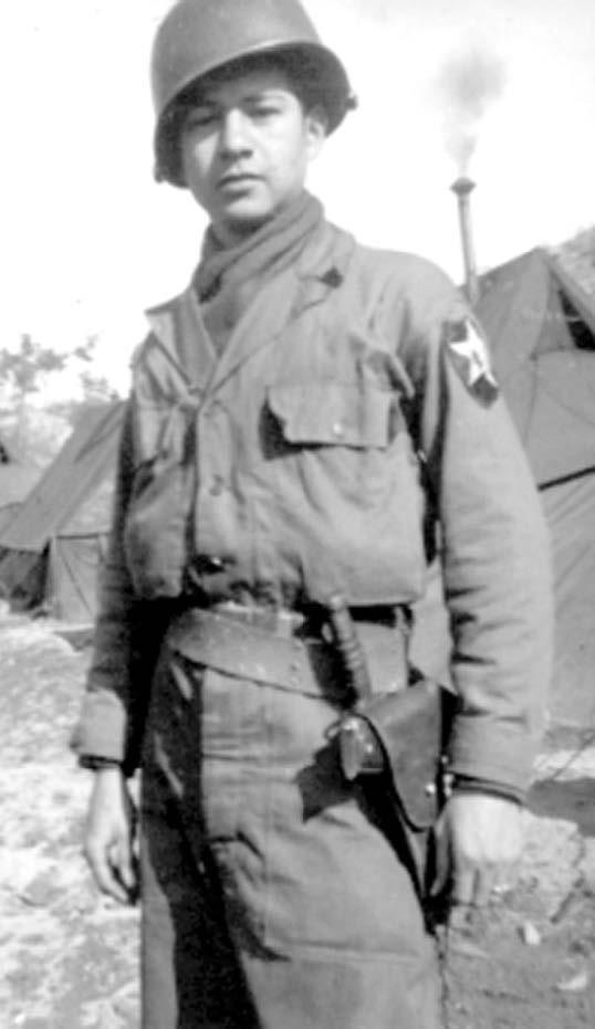 Photo of Victor H. Espinoza in uniform