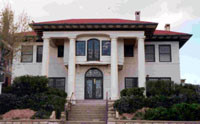 Burges Home, now the El Paso Historical Society