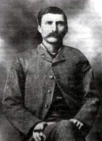 Sheriff Pat Garrett, famous for killing Billy the Kid.