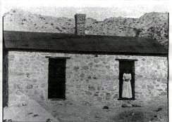 A pest house located at the ASARCO smelter, used as a hospital for patients with contagious diseases