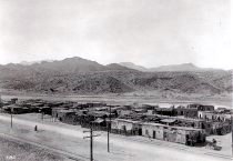 View of lower Smeltertown, or El Bajo, El Paso