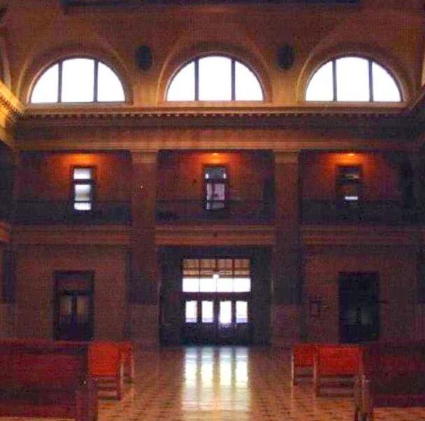 Union Depot interior, El Paso, TX