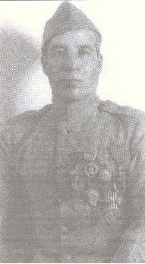 Marcelino Serna, Latino soldier from El Paso,  won numerous medals for heroism in World War I.