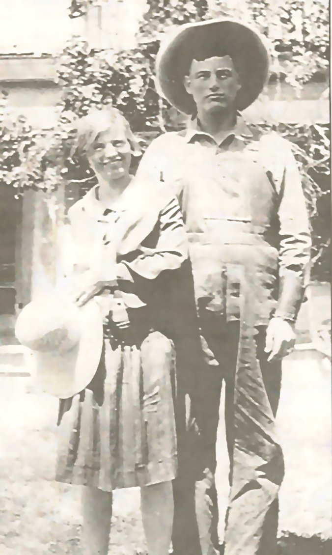 Bill II and Ina McNew, New Mexico ranchers
