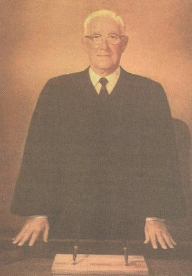 U.S. District Judge R.E. Thomason, portrait by Tom Lea