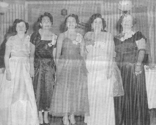 Ladies LULAC members: Celia Araiza, Luz House, Rena Oleal and Esther Machuca