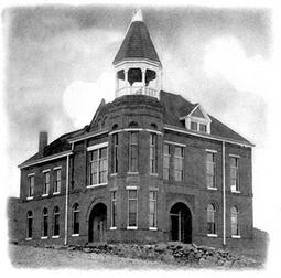 Sierra County Courthouse, Hillsboro, New Mexico
