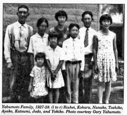 Yabumoto Family, Japanese immigrants to El Paso