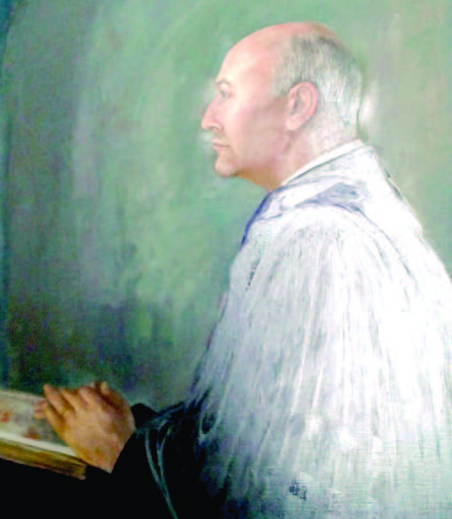 Painting of Rabbi Floyd S. Fierman