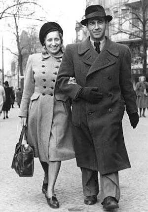 Photo of couple in 1946