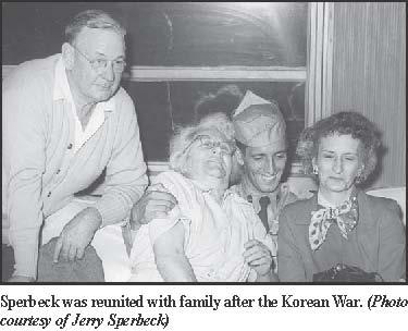 Jerry Sperbeck, Korean War POW, reunites with family